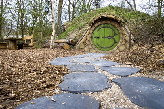 Sprookjesachtig slapen in een Hobbitwoning - OrigineelOvernachten.nl