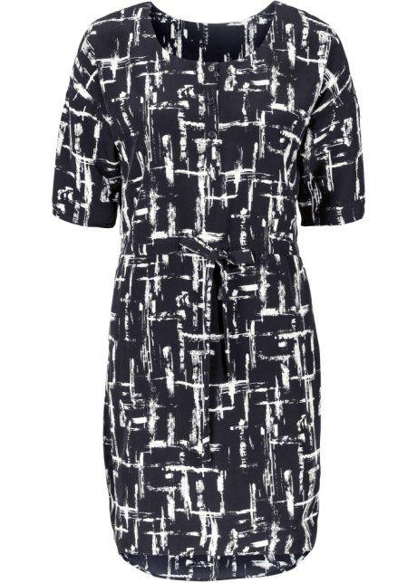 Elbise, BODYFLIRT, siyah/beyaz/gri
