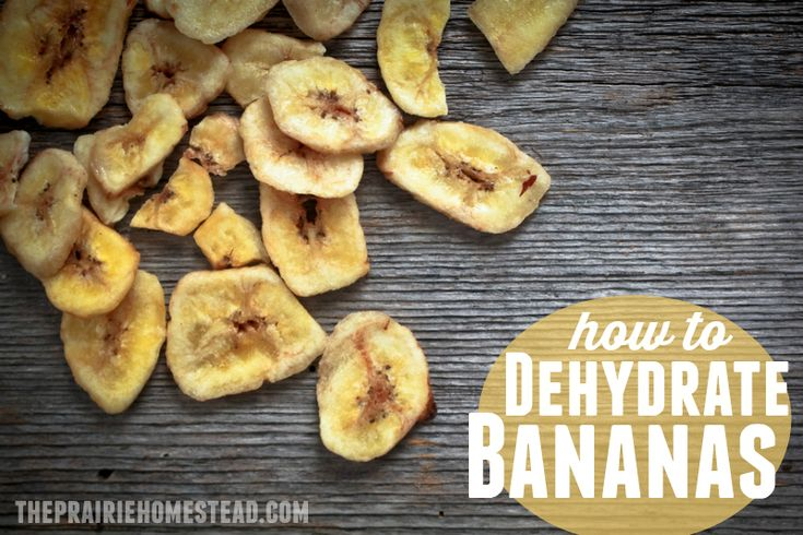 how to make sweet dehydrated banana chips