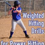 Weighted Hitting Drill Ideas for Softball Power Hitting