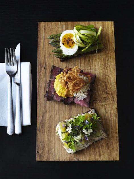 Open faced sandwiches || Nordic cuisine