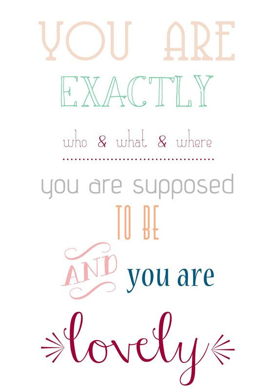 Sweet+Insperational+Quote+Print+by+PopplyLane+on+Etsy,+$7.99