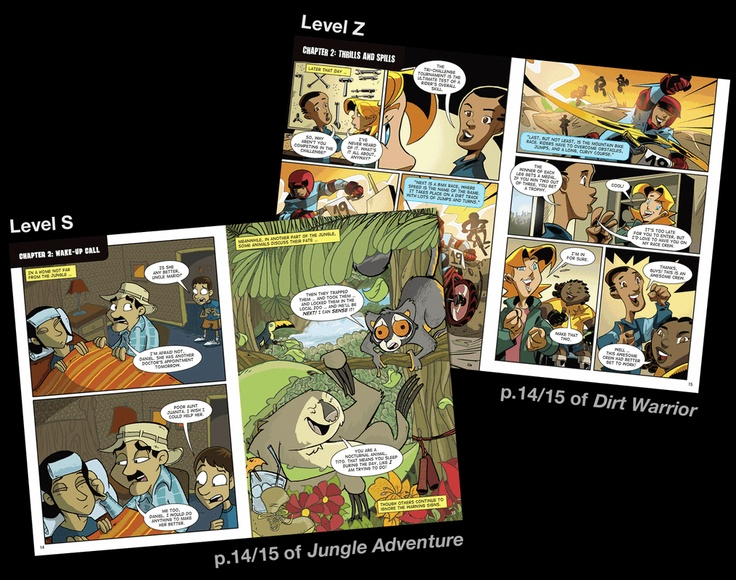 Leveling --   BOLDPRINT Graphic Novels are levelled using an extensive list of criteria, allowing teachers to address each individual's reading abilities.