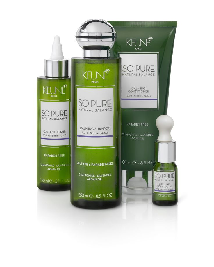 So Pure - Calming (with chamomile & lavender). For all hair types