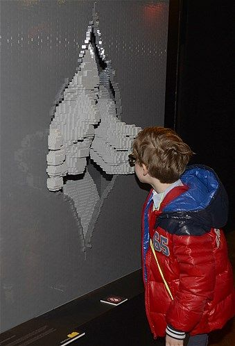 37 best Lego sculptures images on Pinterest | Lego sculptures, The ...