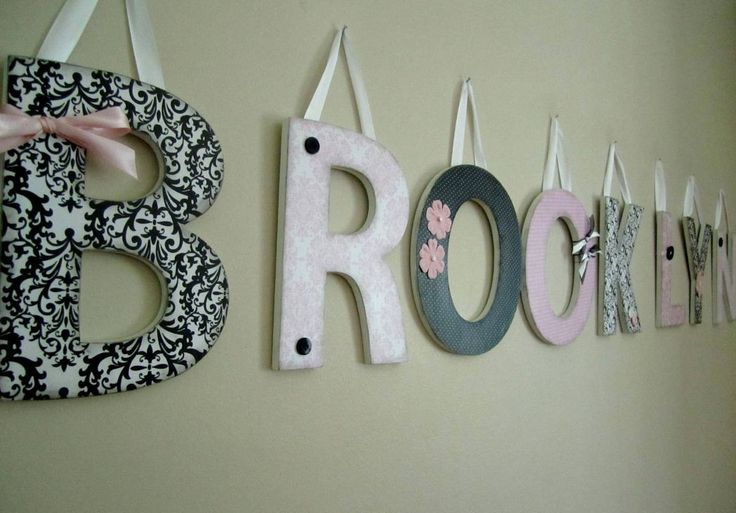 Best 25+ Decorate wooden letters ideas on Pinterest | DIY ...