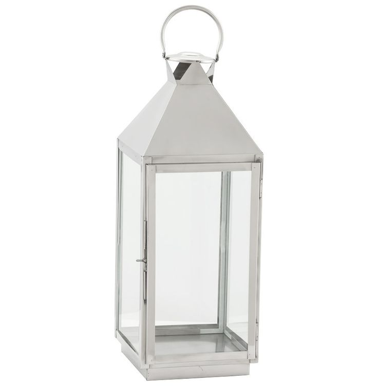 Silver Kokoon Bali Decorative Lantern 70 x 24 x 23cm DK00570AL