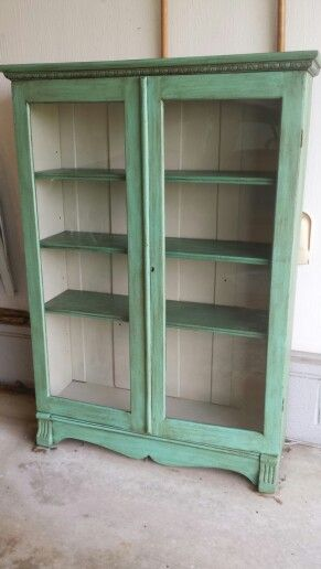 Chalk Painted Bookcase Painting Bookcase Bookcase