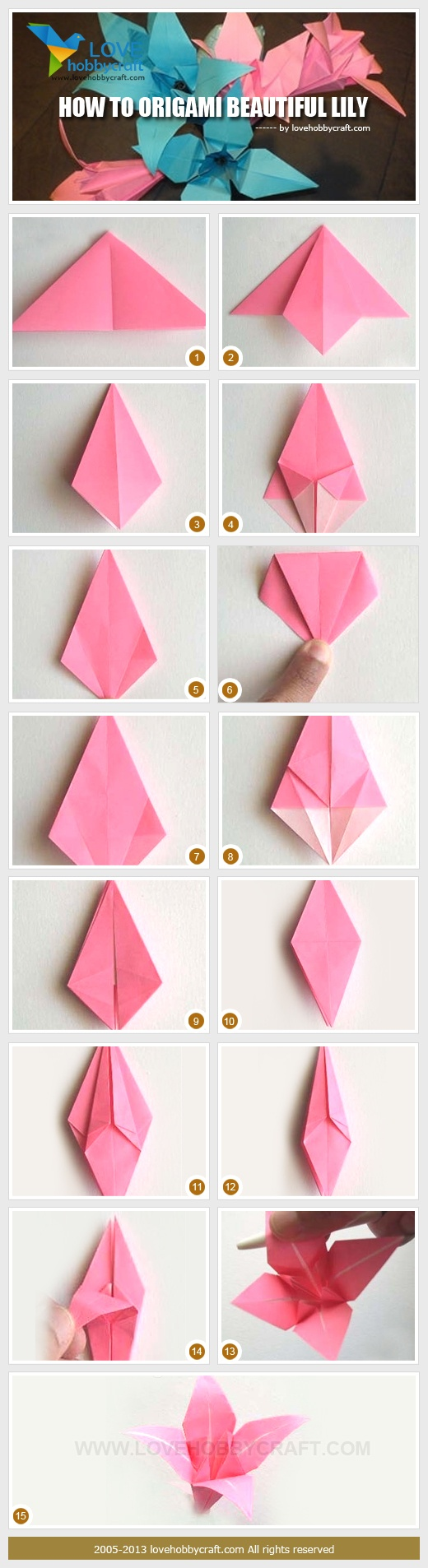 Fake flowers for crafts - Paper Flower