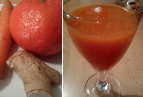 Jak připravit mrkvový koktejl s pomerančem a zázvorem | recept | JakTak.cz