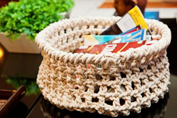 25 melhores ideias sobre cesto para revista no pinterest - Cesto para mantas ...