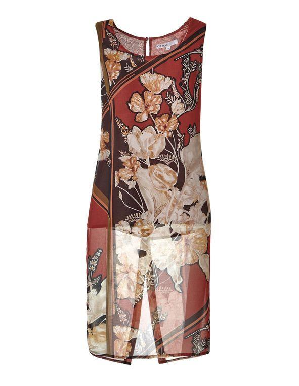 Chili Print Long Tunic, Chili