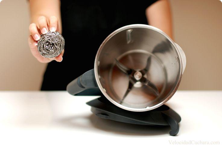 Cómo limpiar el vaso de la Thermomix