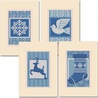 Herrschners® Winter Joy Greeting Cards Counted Cross-Stitch Kit