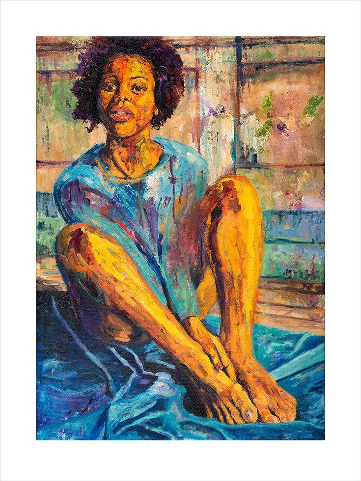 African art print. Limited edition print gliceé. Black art. Empower black women. #blackart #africanart #painting #print #printgliceé #blackartcollector Craft Websites, Home Decor Websites, African Beauty, African Art, Black Art, African Home Decor, Unique Plants, Limited Edition Prints, Arts And Crafts