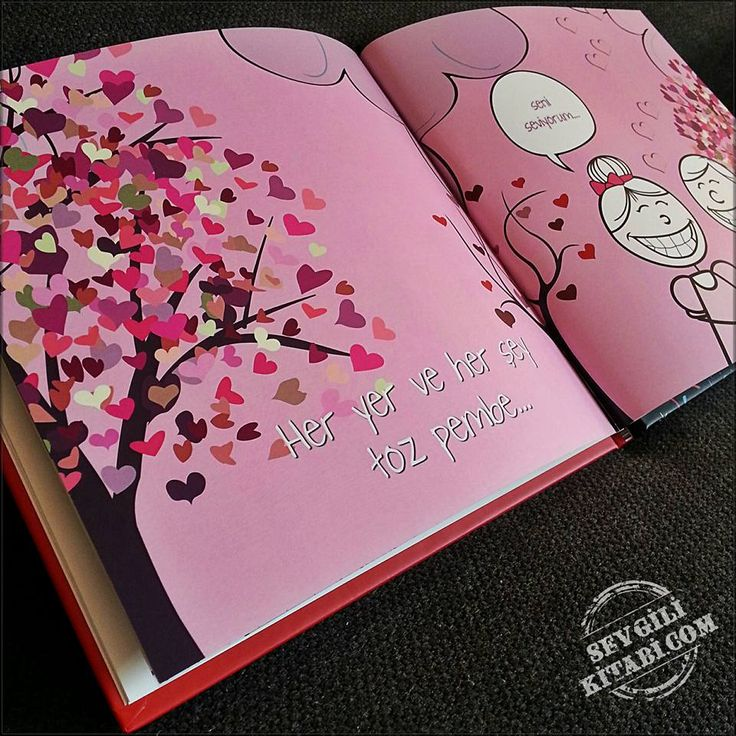 Gönülde aşk olunca... Her yer, her şey toz pembedir :) Aşkının kitabını yaz! www.SevgiliKitabi.com