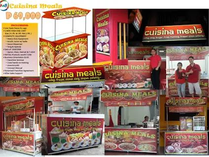 cuisina meals foodcart and mall cart franchising business pinterest. Black Bedroom Furniture Sets. Home Design Ideas