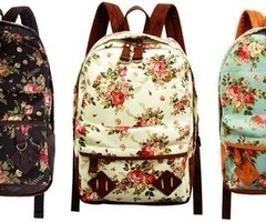 I love these bags.Floral Prints, Fashion, Schools, Style, Floral Backpacks, Flower Prints, Accessories, Bags, Floral Pattern