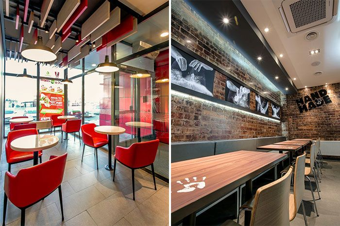 Images about interior fast food kfc mongolia