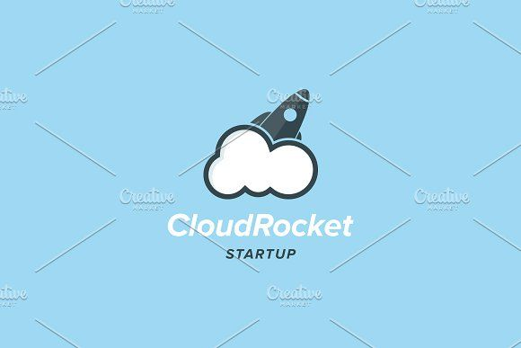 Cloud Rocket Logo Template @creativework247