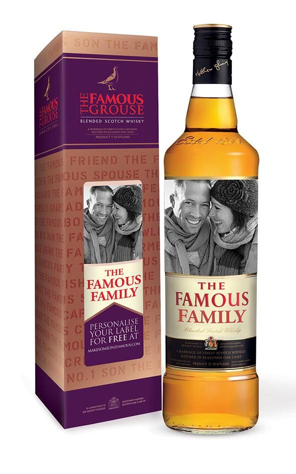 Maxxium UK focuses on personalisation to promote Famous Grouse whisky