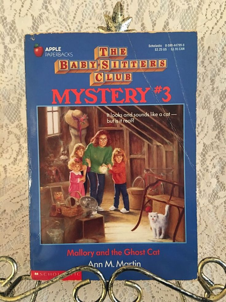 The Baby-Sitters Club Mystery 3 Mallory and the Ghost Cat Ann M. Martin PB Pets  | eBay