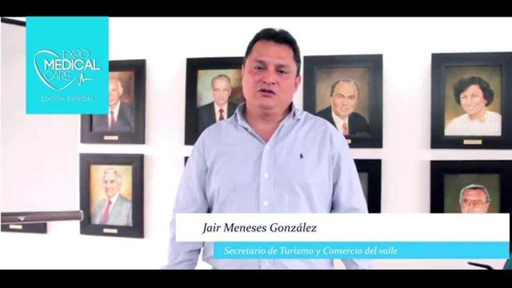 Invitación secretario de Turismo -Expomedical Care 2014