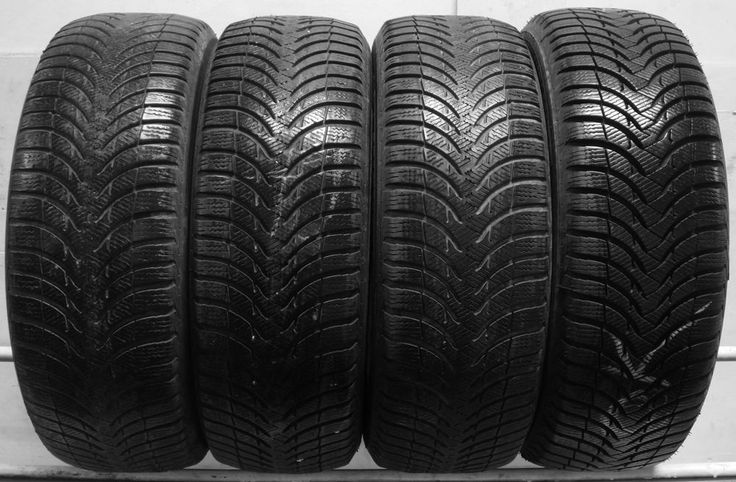 4 2055516 Michelin Alpin A4 205 55 16 Winter Mud Snow Used Part Worn Tyres x4 T **** 01392 20 30 51 *********