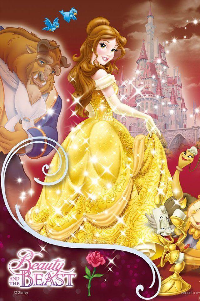 Disney Princess Belle Christmas Wallpaper Download