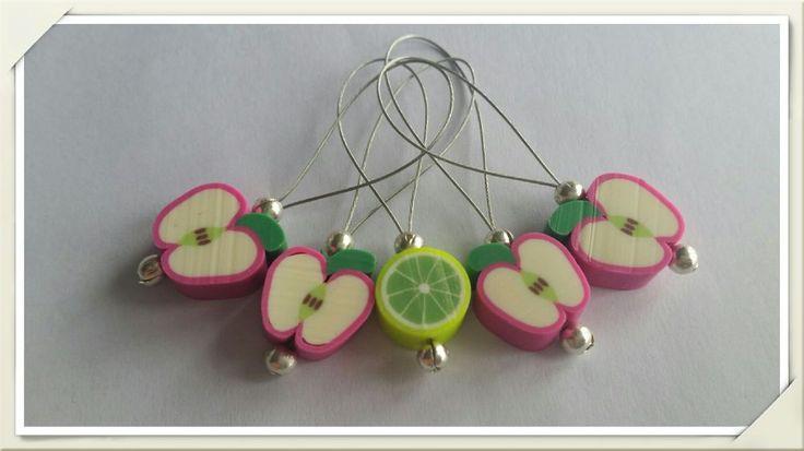 Epler og lime maskemarkører. via Duskedama. Click on the image to see more!