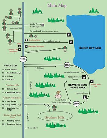 Your Vacation Cabin Rentals near Broken Bow Lake OK