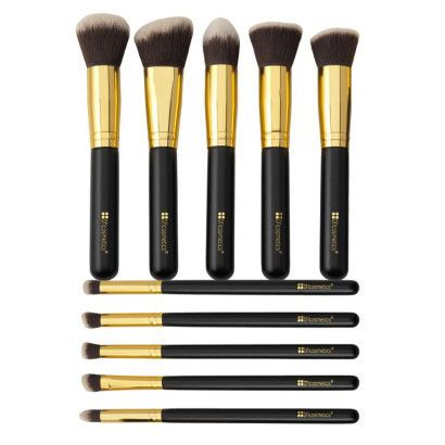 BH Cosmetics | 10 Piece Brush Set - Sculpt And Blend
