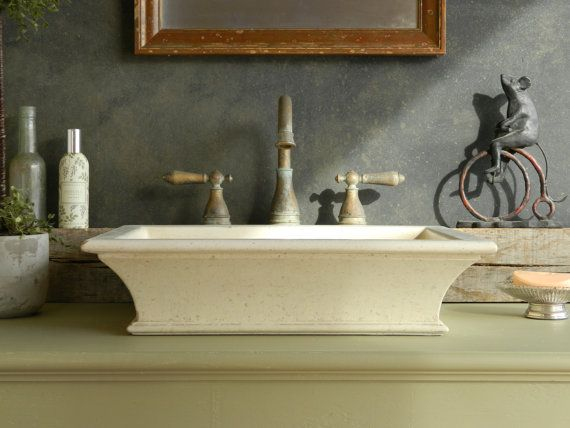 Vessel Sink - Classical Cove Concrete Sink