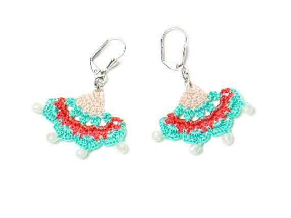 Earrings Oriental Style Crochet Earrings Ethnic Bohemian