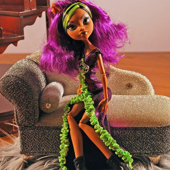 Monster High doll handmade VaVa Vooooom  jewel by aGhoulsNightOut