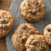 Oatmeal-Chocolate Chip Cookies recipe from Betty Crocker. I make these all of the time by request of my boyfriend. They are amazzzing!