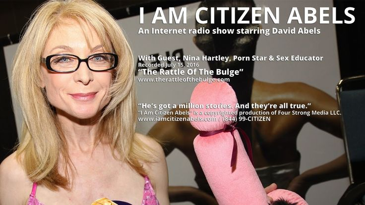 Too tired to take off your underwear and the girlfriend's too? Then take an hour then to plug in your buds and stay in touch with yourself, Citizen Abels, and porn star and sex educator, Nina Hartley. Oh baby.