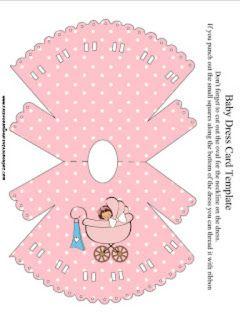 As Melhores Ideias De Convite Chá De Bebê Vestido Manualidades