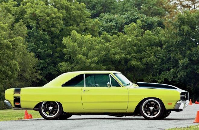 "How about one the lightest cars Dodge made stuffed with the baddest Mopar engine you could buy. Can anyone say ""hold on to your driver's license!""?"