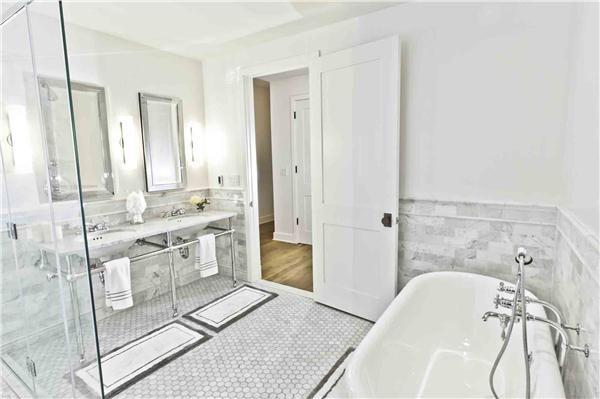 Contemporary (Modern, Retro) Bathroom by Marie Burgos
