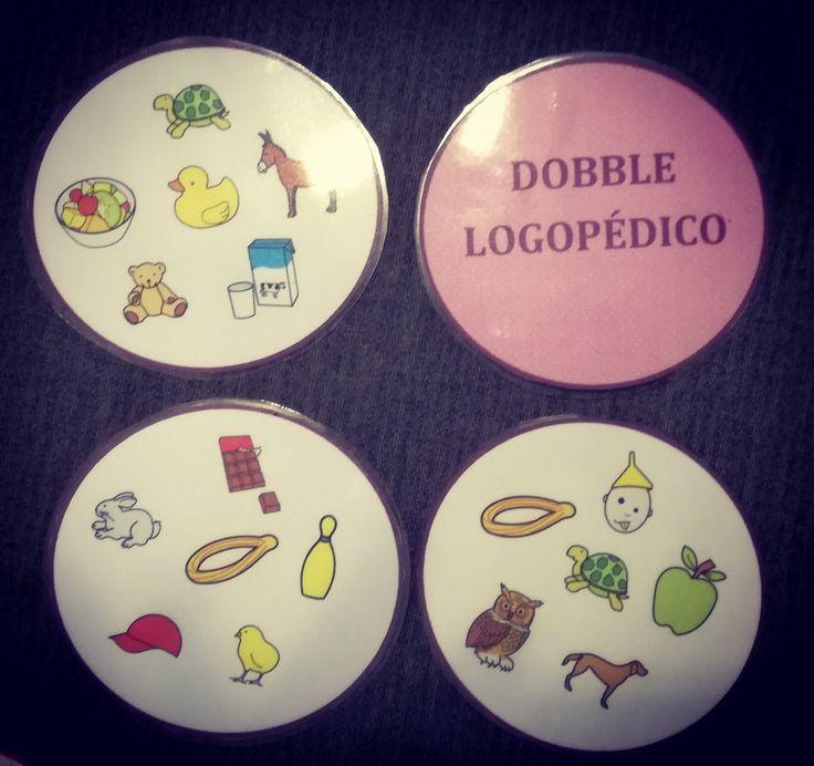 ¡Hola Logopedas! hoy os traigo un material basado en el juego dobble. Con este juego podrémos trabajar tanto la atención como la percepci...