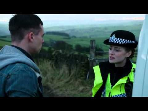 WPC gets bashed by car (from tv-series Happy Valley) - YouTube !!!