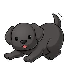 black lab....png image trans. back