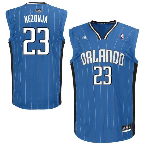 Mario Hezonja Orlando Magic adidas Replica Jersey - Blue - $41.99