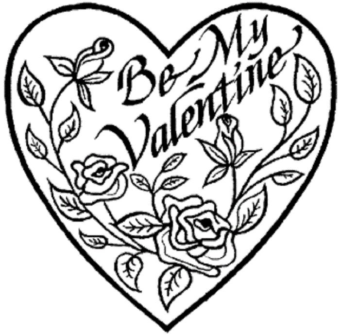 22 best Valentine Coloring Pages images on Pinterest | Coloring ...