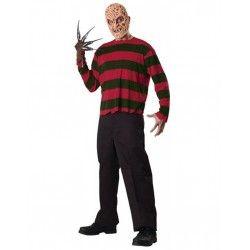 Comprar Disfraz Camiseta y mascara de Freddy Krueger Adulto