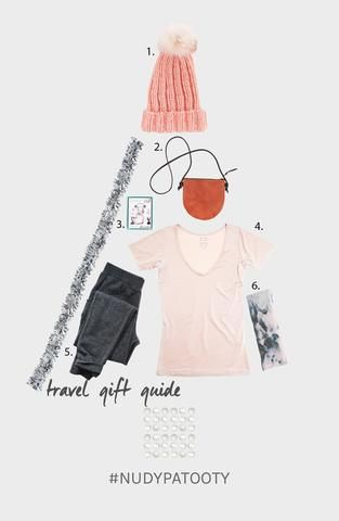 The feeling when you find someone the perfect gift is priceless especially when it is something they need, and will help make their lives easier. We often forget the little things we use when travelling and those can make the best gifts. We all know someone who is constantly on the go, so we've rounded up our favourite travel essential gifts for the busy jet setter in your life to help keep them calm and pampered even when on the go. 1. Headmistress, Knit Toque in Blush, $852. Fitzy, Ali…