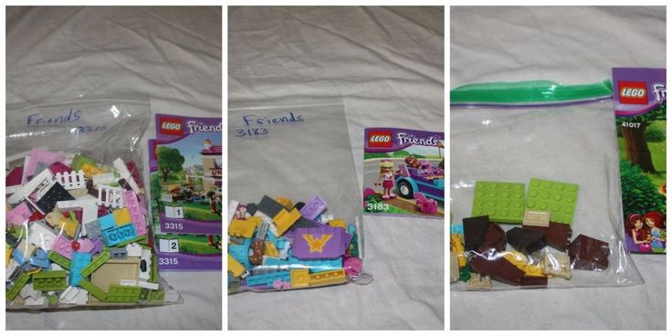 Lego Friends 3 Sets 3183 3315 41017 House Squirrel Tree Convertible Car  RETIRED #LEGO