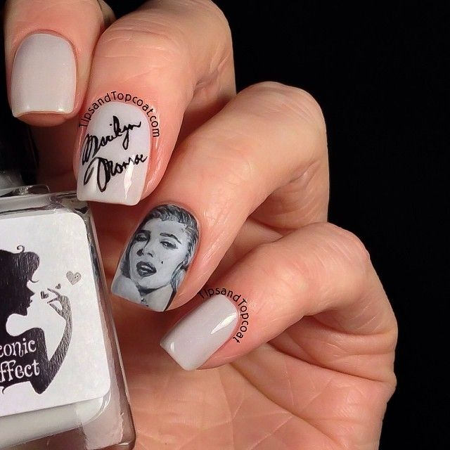 30 best Diva Marilyn Monroe Nails images on Pinterest | Marilyn ...
