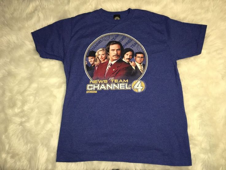 Paramount Heather Blue Comedy Movie Anchorman Ron Burgundy Stay Classy T-Shirt #Anchorman #GraphicTee